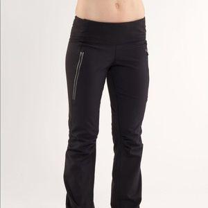 Lululemon Run Free Pant Size 6 Black